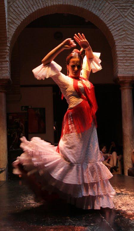 A Classic Flamenco Pose