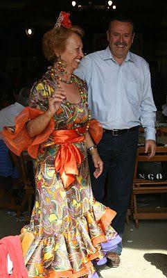 A Couple Having Fun At The Fair