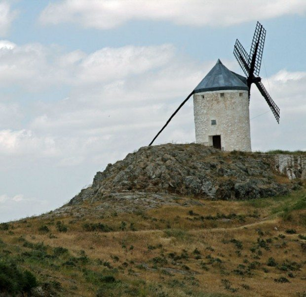 A Solitary Windmill