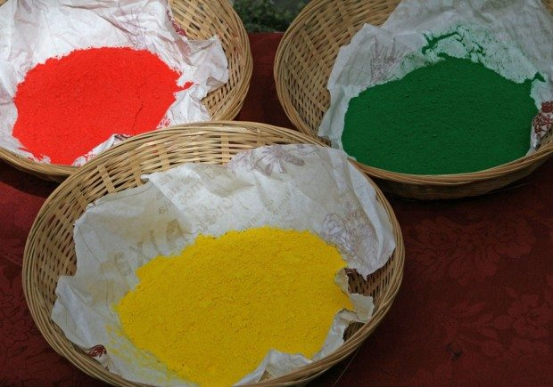 Baskets Of Dye