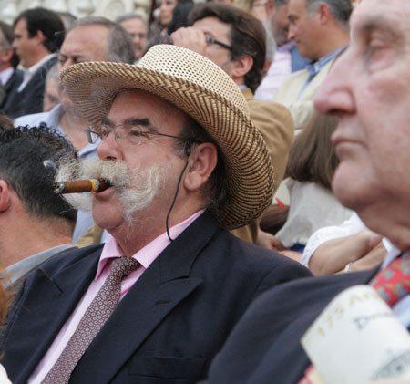 Cigar Chomping Man
