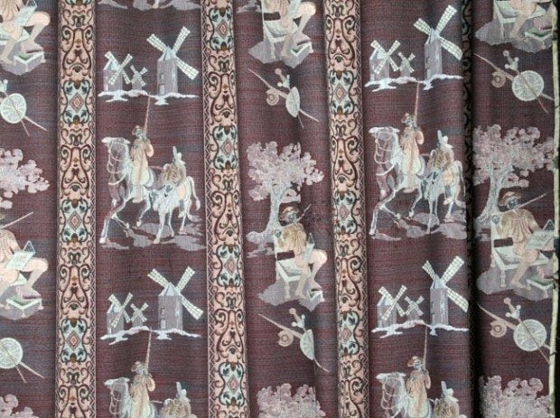 Don Quixote Curtains In Ubeda