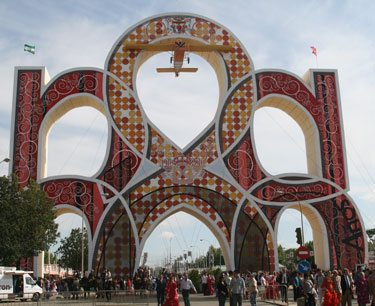 Entrance To The Feria