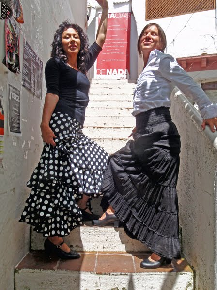 Flamenco Babes, Helen And Terri Get The Look