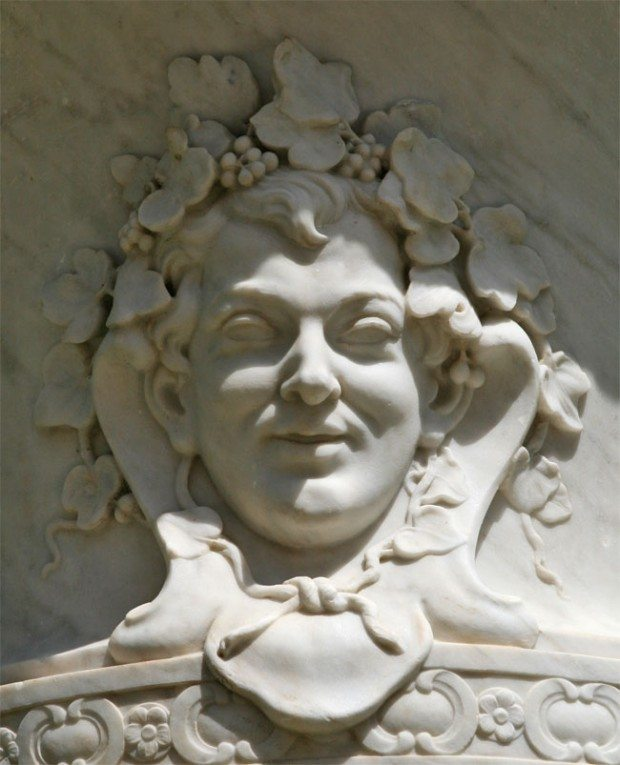 White Marble Bacchus