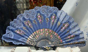 Lace Edged Fan