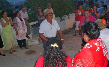 Pueblo People Dancing