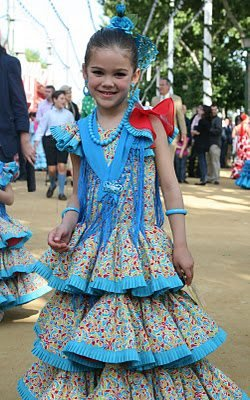 Signorita In A Blue Dress