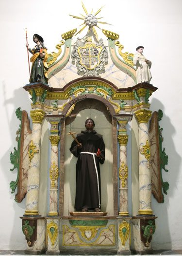 ...and St Benedict In The Chapel