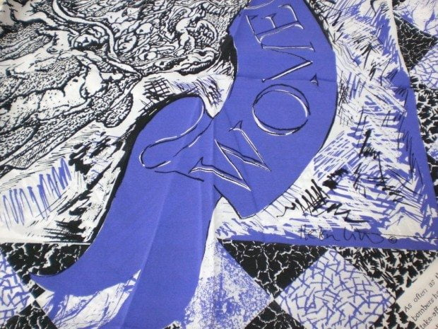WOMENS PEACE SCARF