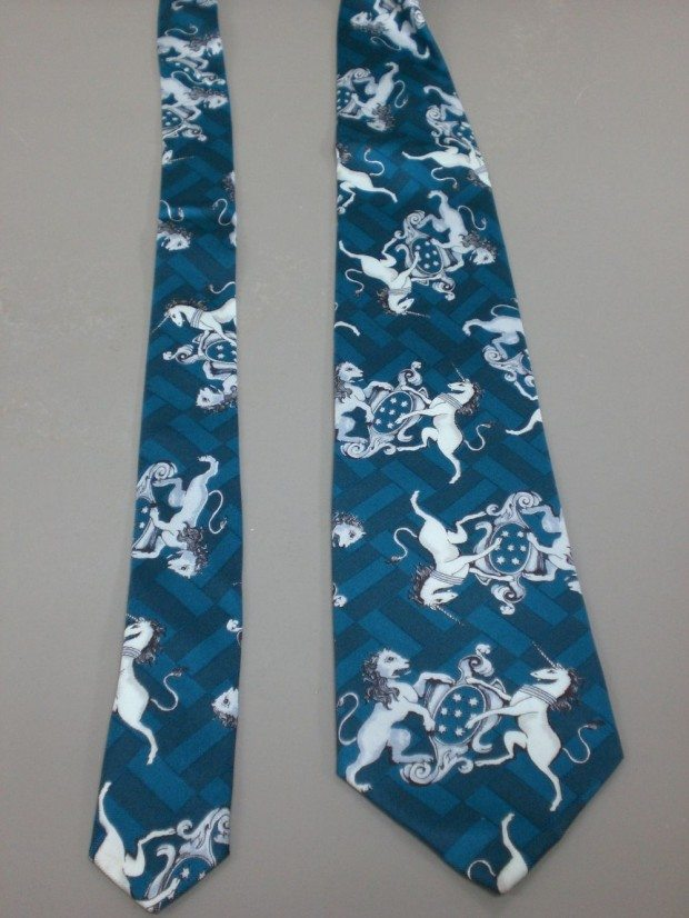 LION AND UNICORN (TIES)