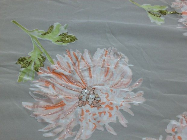 CHRYSANTHEMUM EMBROIDERY