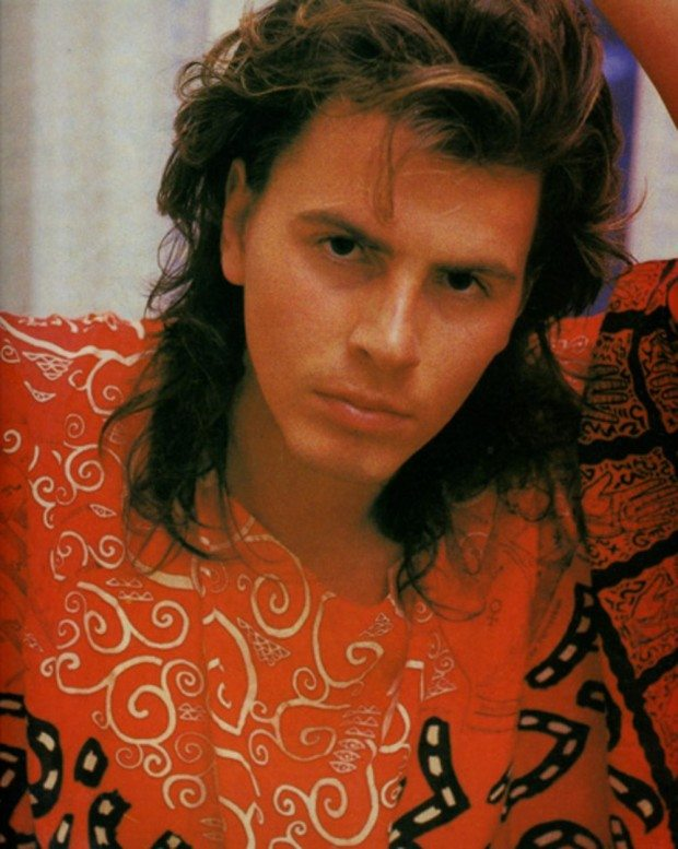 John Taylor In Red Hands Dress