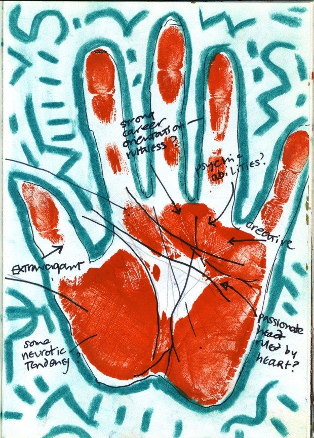 Sketchbook 1983-1984 Hands