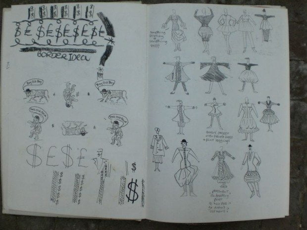 Sketchbook 1986-1987