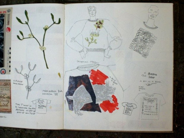 Sketchbook 1987-88