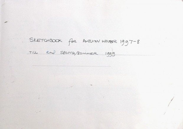 Sketchbook 1997-1999