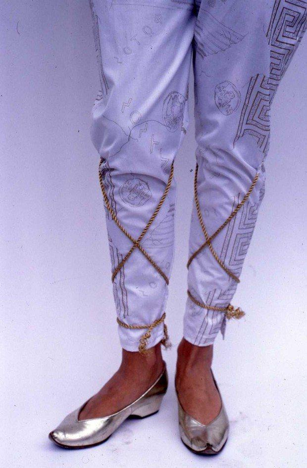 Greek Key trousers