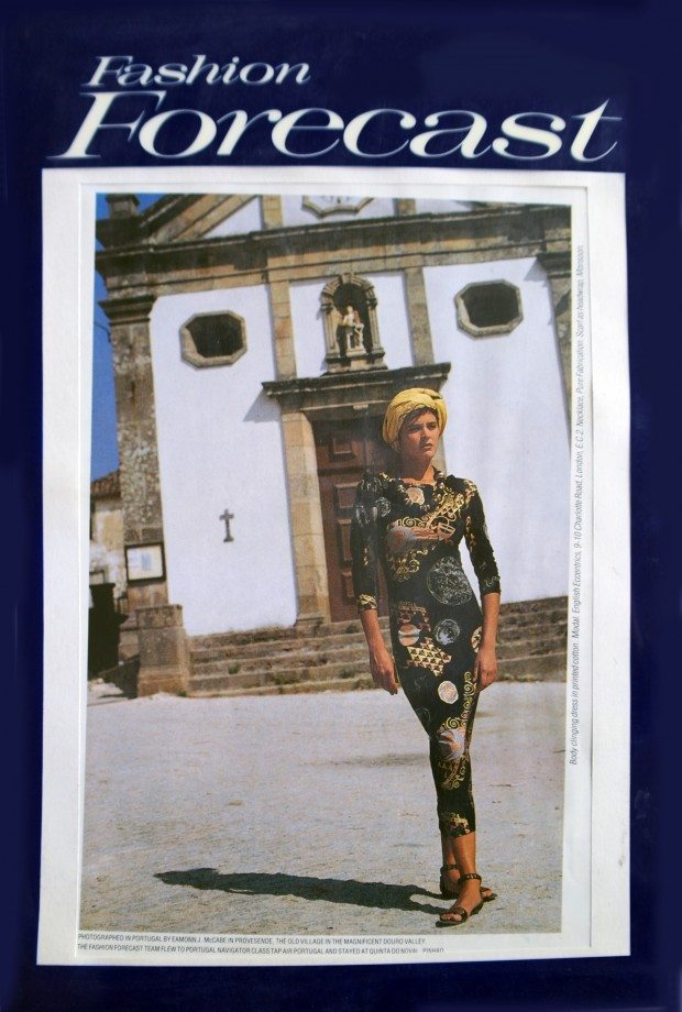 Klimt Print Dress - Fashion Forecast - SS'87