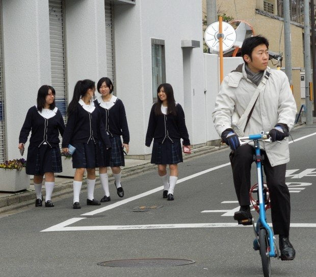 Uniforms and Bicycle