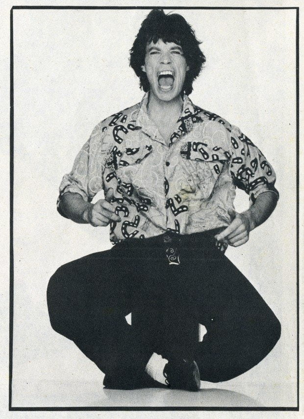 Mick Jagger Interview magazine