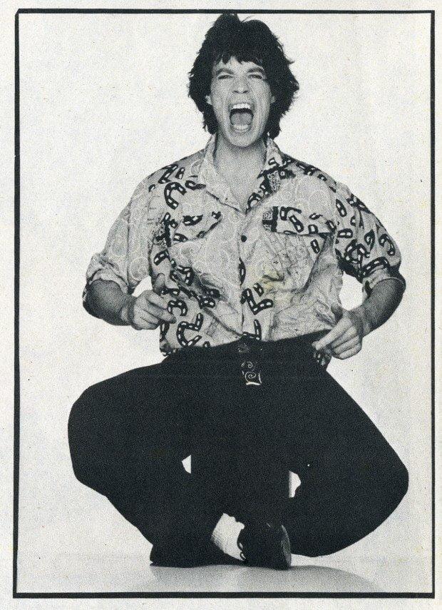 Mick Jagger Interview magazine