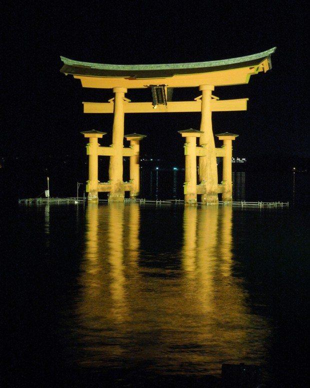 Torii Gate by Night
