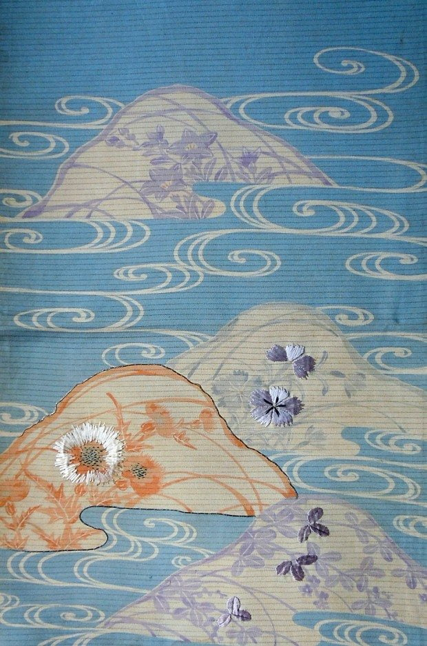Vintage Textile - Katazome