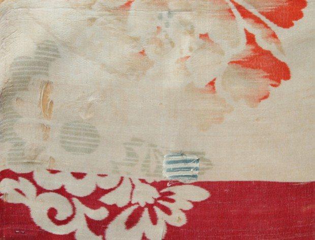 Vintage Textile - Warp Print