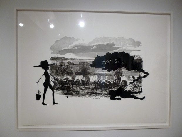 NEW YORK ART KARA WALKER PRINT 2