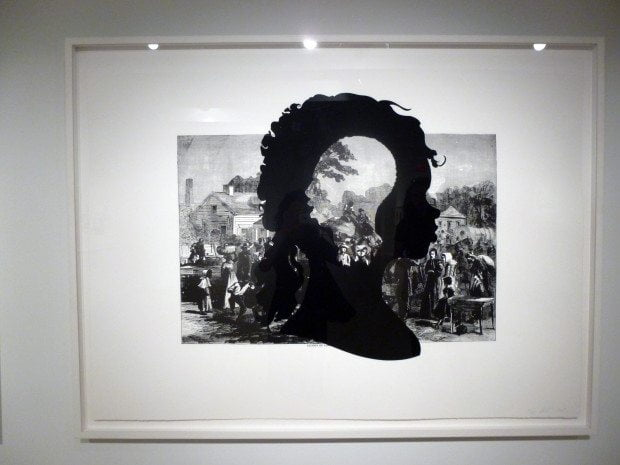 NEW YORK ART KARA WALKER PRINT