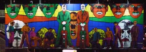 NEW YORK STREET ART GILBERT AND GEORGE