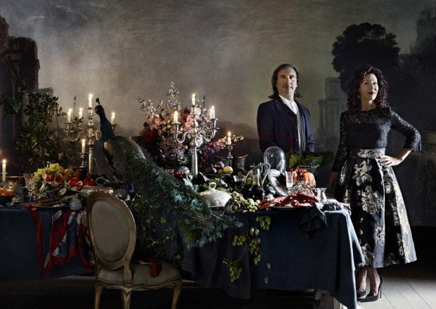 A Fantastical Feast with Helen & Colin David - Photograph Sharyn Cairns Styling Glen Proebstel - Courtesy of RED Magazine