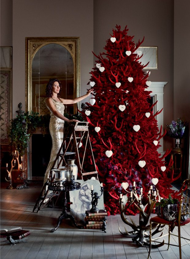 Christmas with Helen David - Photograph Sharyn Cairns Styling Glen Proebstel - Courtesy of RED Magazine