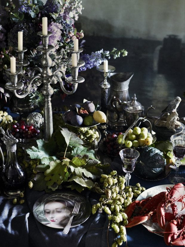 Fantastical Feast - Photograph Sharyn Cairns Styling Glen Proebstel - Courtesy of RED Magazine