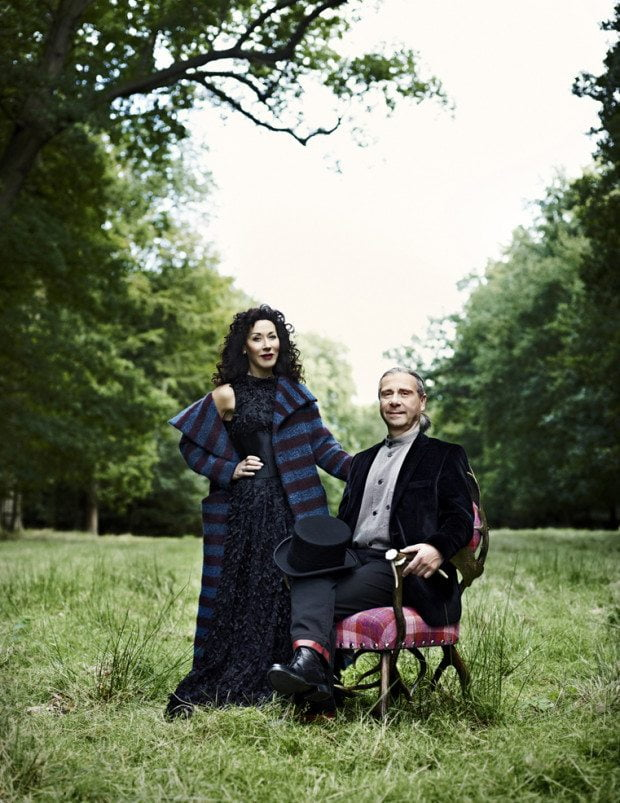 In the Wilderness with Helen & Colin David - Photograph Sharyn Cairns Styling Glen Proebstel - Courtesy of RED Magazine