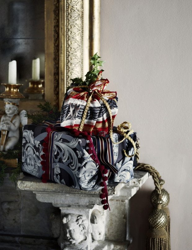 Presents by the fire - Photograph Sharyn Cairns Styling Glen Proebstel - Courtesy of RED Magazine