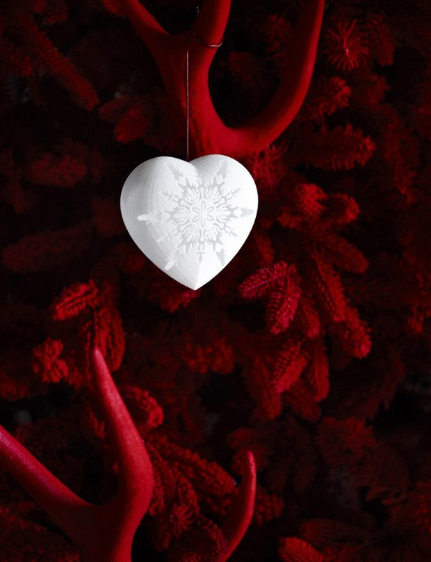 Red Velvet Tree of Love - Photograph Sharyn Cairns Styling Glen Proebstel - Courtesy of RED Magazine