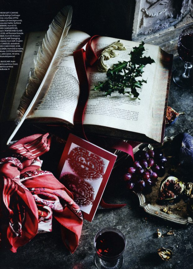 Spread four, Courtesy of RED Magazine, Photograph Sharyn Cairns Styling Glen Proebstel