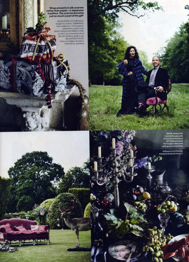 Spread six, Courtesy of RED Magazine, Photograph Sharyn Cairns Styling Glen Proebstel