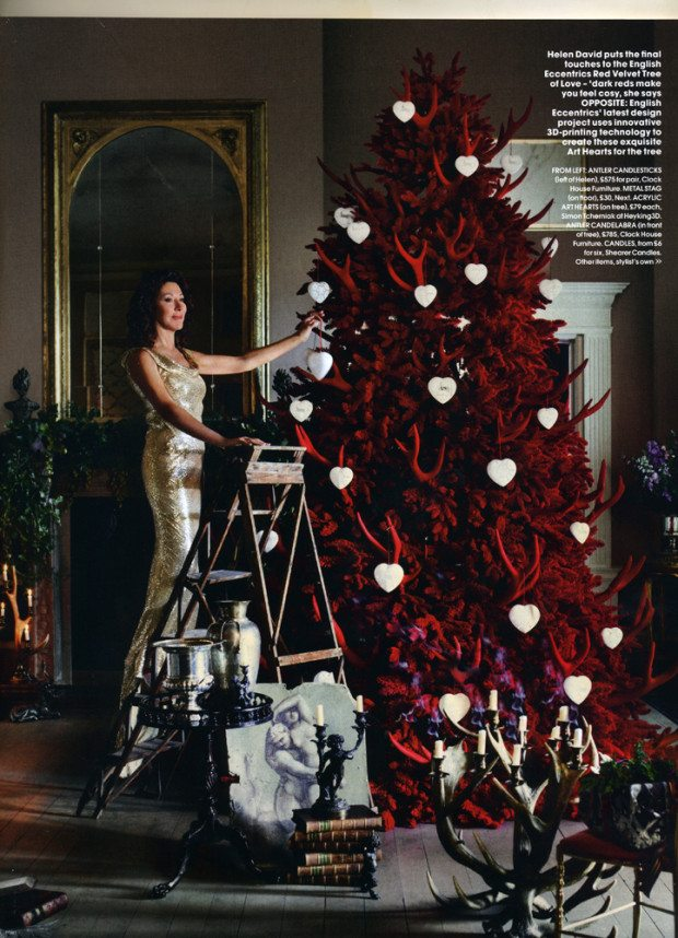 Spread two, Courtesy of RED Magazine, Photograph Sharyn Cairns Styling Glen Proebstel