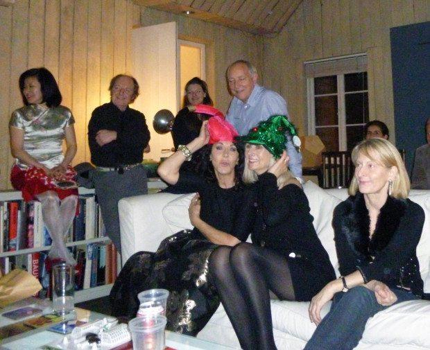 CC at RA PARTY HATS!