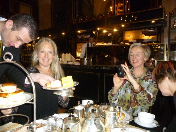 Girly tea at the Wolseley