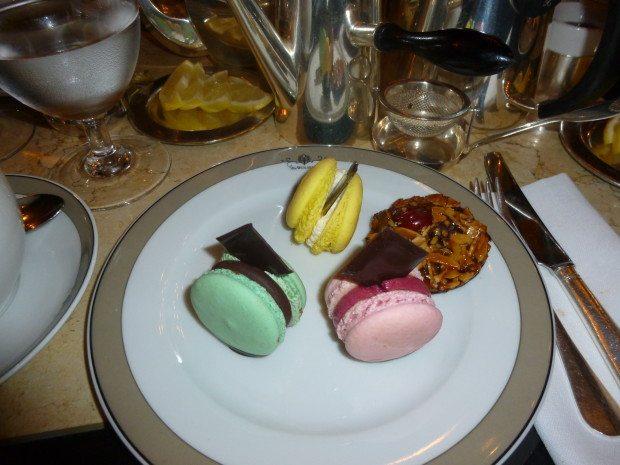MACAROONS at Tea at the Wolseley