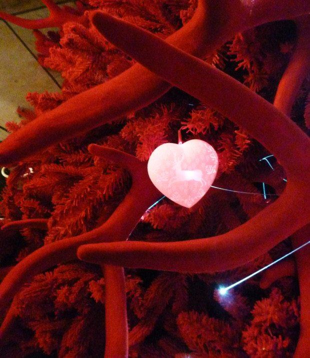 Red Velvet Tree Detail