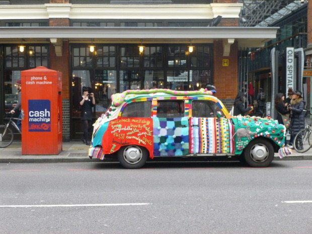 The Knitted taxi