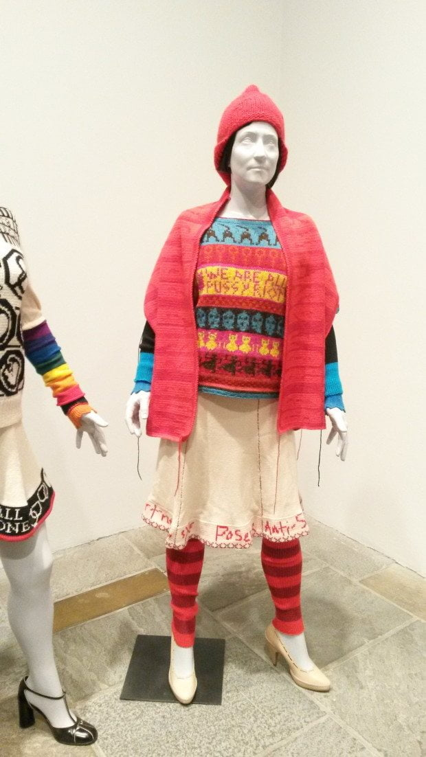 22 Whitney Biennial knitted outfit