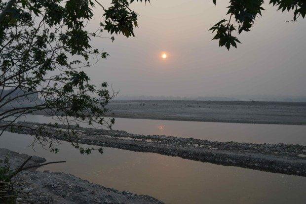 Haridwar - Camp - Sunrise