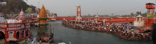 Haridwar - Kumbh Mela 2016 - Ganga Scene
