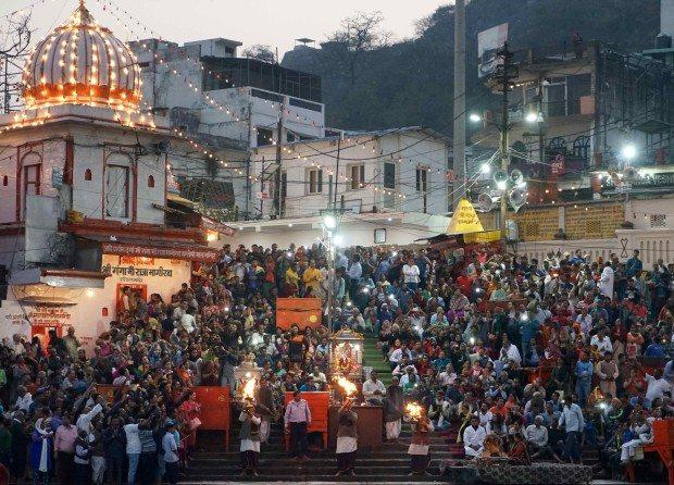 Haridwar - Kumbh Mela 2016 - Aarti